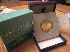 100€ or Georges Braque 2010 etat neuf rare
