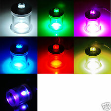 LED Water Stopper G1/4 Thread For Reservoir Water Tank 4Pin Molex Color Optional