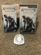 Assassin's Creed Bloodlines Sony PSP CIB Complete w/ Manual EXCELLENT CONDITION!