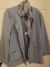 Ladies Giacca blue Jacket Size Large