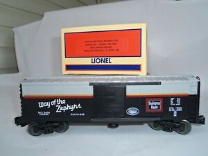 Lionel 6-52178 CLRC Burlngton Route Operating Boxcar, Chicagoland