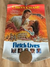 Fletch Lives vintage double sided poster 1989 very good condition