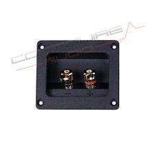 MORSETTIERA ALTOPARLANTI CAVS10 ABS 24k vaschetta morsetti diffusori casse audio