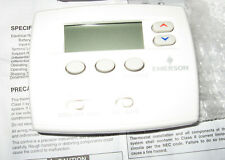 Emerson 1F80-0261 5-1-1 Day Programmable Thermostat for single stg conv. system