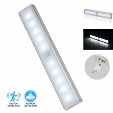 Motion Sensor Lamp Under Cabinet Kitchen Home USB Rechargeable Stick LED Light
