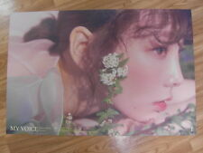 TAEYEON - MY VOICE (BLOSSOM VER.) [ORIGINAL POSTER] K-POP *NEW* SNSD