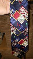 Tabasco Label Necktie tie 100% Silk Made in the USA