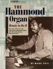 BEAUTY IN B STORY OF HAMMOND B-3 ORGAN By Vail Mark **BRAND NEW**
