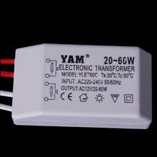 220V AC To 12V 20-60W Halogenlicht-LED-Treiber-Spg.Versorgungsteil-Transformator