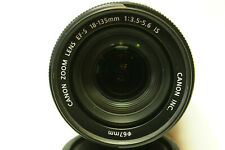 Canon EF-S Zoom 18-135 IS