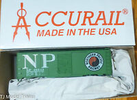 Accurail HO #3502.1 (Rd #48943) Northern Pacific (AAR 40' Steel Boxcar) Plastic