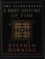 The Illustrated a Brief History of Time by Stephen Hawking (1996, Hardcover, Exp