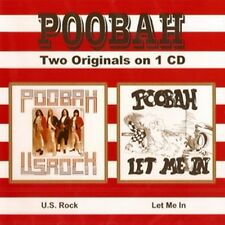 """Poobah:  """"U.S. Rock & Let Me In""""  (2on1 CD Reissue)"""