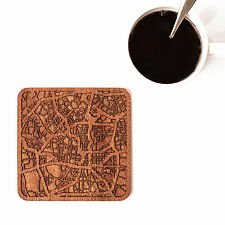 San Antonio map coaster One piece  wooden coaster Multiple city IDEAL GIFTS