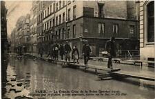 CPA La Grande Crue de la Seine. 4 Rue du Bac Systeme americain (561736)