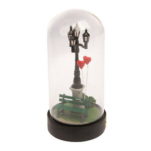 SELETTI My Little Valentine Table Lamp Dimmable Rechargeable Dome Heart Balloons