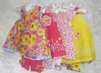 First Impressions Baby Girl Dress Set Floral Leggings sizes 0-3M 3-6M 12M NEW