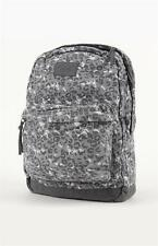O'Neill Calder Gray Cheetah Print Soft Side Laptop Backpack Bookbag New NWT