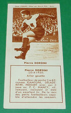 FOOTBALL BISCUITS REM 1958 PIERRE DORSINI TOULOUSE FC NANCY AGEDUCATIFS PANINI