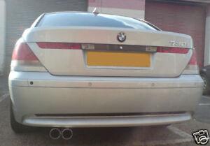BMW E65/E65/E66/730D/730 7 SERIES/STAINLESS EXHAUST BOX