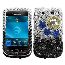 Cloudy Night Crystal Diamond BLING Hard Phone Case BlackBerry Torch 9800 9810