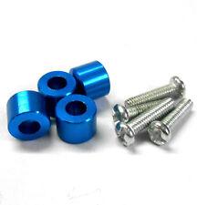 L301SB 1/8 1/10 Scale Buggy Alloy Shock Damper Screws Reducer Liner Blue 8mm