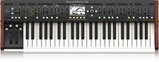 BEHRINGER DEEPMIND 12 True Analog Polyphonic Synthesizer -Step Control Sequencer