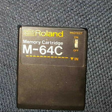 Roland M-64C M 64 C Cartridge. Very nice Condition. For MKS and JX series x2a