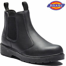 Dickies Slip On Boots for Men with Steel Toe