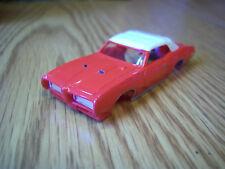 HO BODY Thunderjet 500 1968 Pontiac GTO in Red  Aurora Tjet HO race set