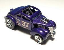 HOT WHEELS 2008 NEW MODELS SERIES PASS N GASSER Hot Rod Drag Racer Purple