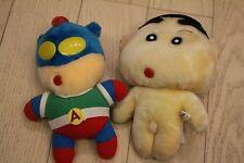 Crayon Shinchan shin chan Action kamen Plush doll Taito set rare Prize
