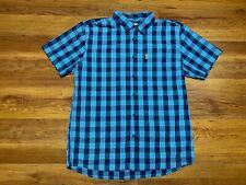 Fjallraven OVIK Button Down Shirt Herren Hemd Gr L Funktionshemd Sommer Outdoor