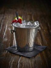 Mini Acero Inoxidable Cubo De Hielo 10cm Barra cócteles Gafas pub Barware drinkware