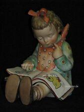 """Goebel Hummel 3/I """"Der Bücherwurm"""", Mädchen liest in Buch, Sonderstempel"""
