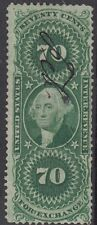 Stati Uniti ricavi: 1863 70C Foreign Exchange Scott # R65 pen-cancel