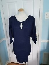 bebe sweater dress l very sexy.  #957