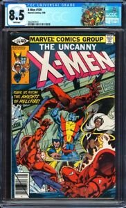 X-Men #129 CGC 8.5 1st app. of Kitty Pryde & Emma Frost X-Men custom label!L@@K!