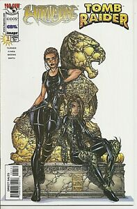 °WITCHBLADE / TOMB RAIDER #1 ONE-SHOT° USA Image/ Top Cow Crossover 1998 Cover B