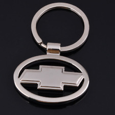 3D Metal Double Side Car Logo Hollow out Keyring Key Chains Holder for Chevrolet