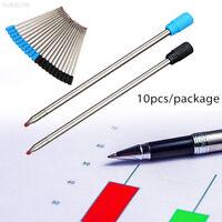 D1FA 10pcs/Lot 7cm Professional Ball Pen Refill Ballpoint Pen Refills Sign Pen