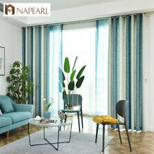NAPEARL 1 Panel Gorgeous Design Semi-blackout Curtains Window Decor Tulle Drapes