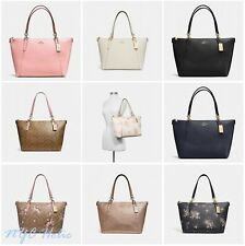 New Coach Ava Tote F37216 F35808 F57526 In Signature And Leather Black Saddle