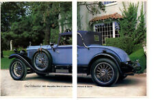 1927 MERCEDES-BENZ K CABRIOLET BY HIBBARD & DARRIN ~GREAT 5-PAGE ARTICLE / AD