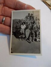 WW2 INDIAN ARMY FUN  PHOTOGRAPH  85 X 65 mm   e