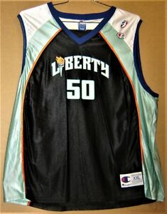 NEW YORK LIBERTY REBECCA LOBO WNBA BASKETBALL JERSEY