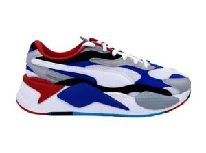 PUMA Rs-X Puzzle Sneakers White Blue Red Black 371570-05