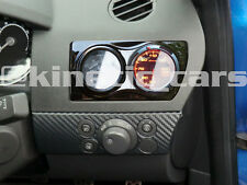 Vauxhall Astra H MK5 Air Vent twin Gauge Pod adapter Gloss black ABS plastic
