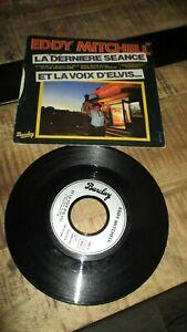 Eddy Mitchell-45T-620.373-Barclay(2 titres)-1977-La dernière séance...