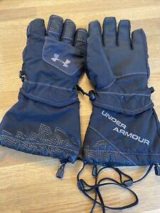 Under Armour XL Gauntlet Coldgear Snowboard Ski Gloves